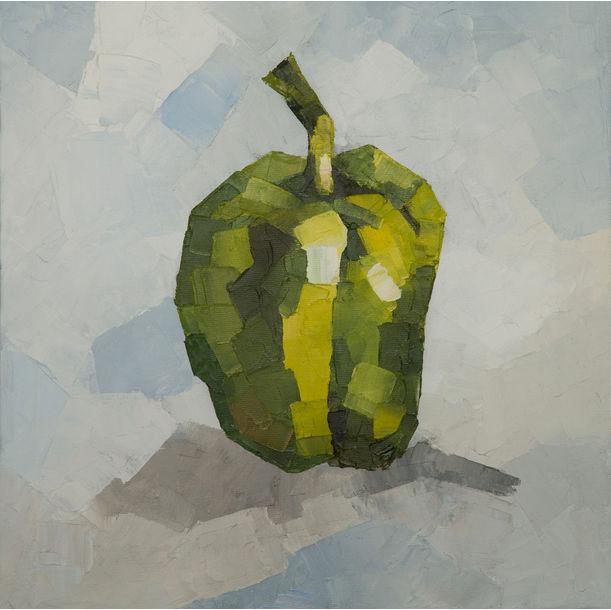 GREEN PEPPER by Carlos J Tirado