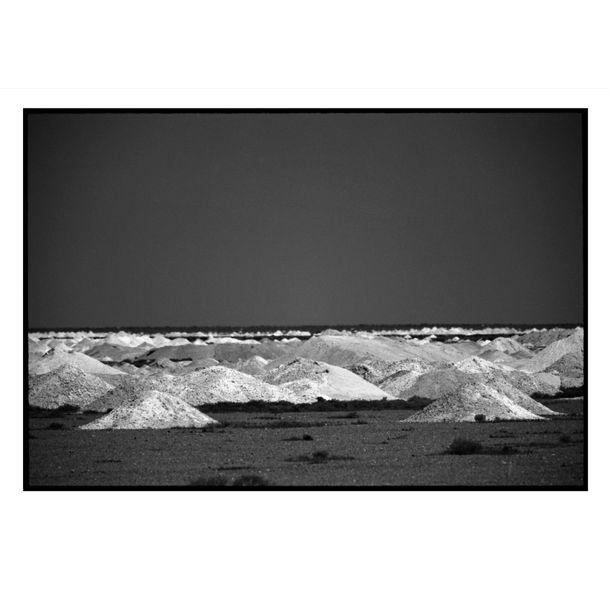 Coober Pedy Opal Mounds #2 by Damian Seagar