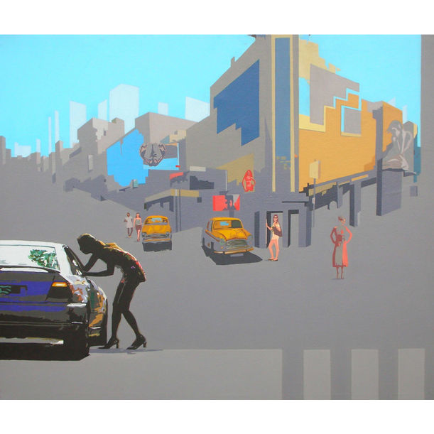 Neo Urbanscape by Abhijit Paul