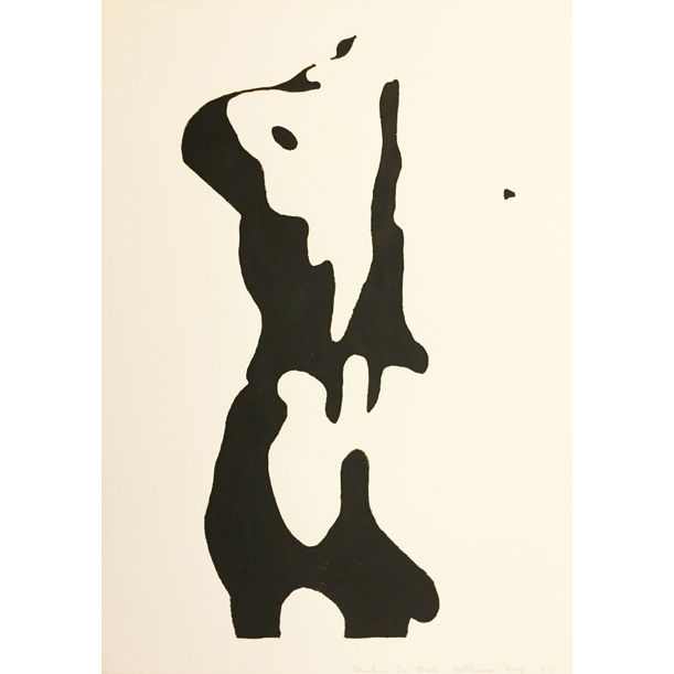 Shadow 20 Back Study (After Picasso) by Jonathan Thomson