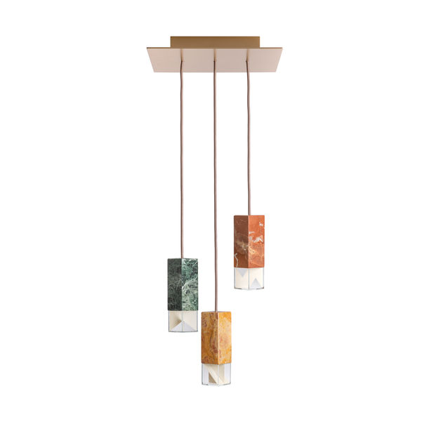 Lamp/One Colour Edition Chandelier by Formaminima