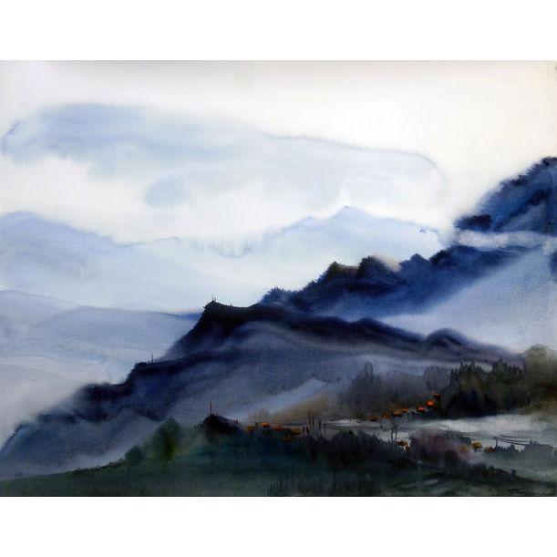 Beauty of Majestic Himalayan Mounatain by Samiran Sarkar