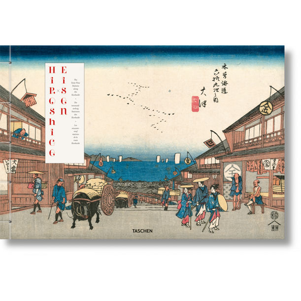 Hiroshige & Eisen. The Sixty-Nine Stations along the Kisokaido by Andreas Marks, Rhiannon Paget