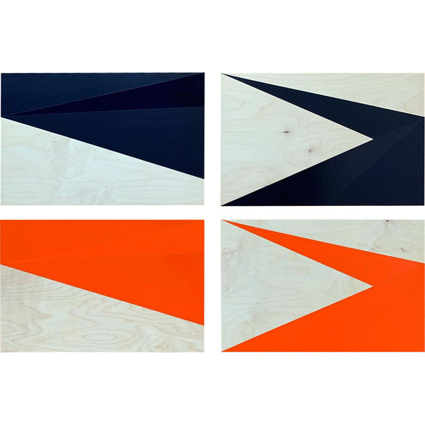 Wrapping. Unfolding (Paynes & Pyrrole) by Jau Goh