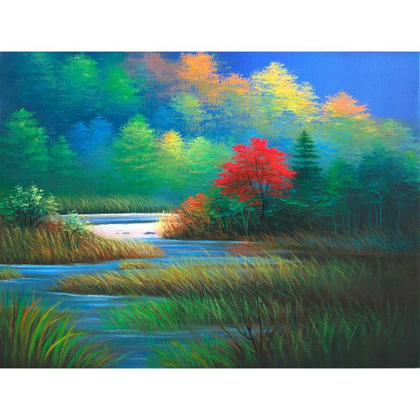 Autumn Lake by Richard Leung