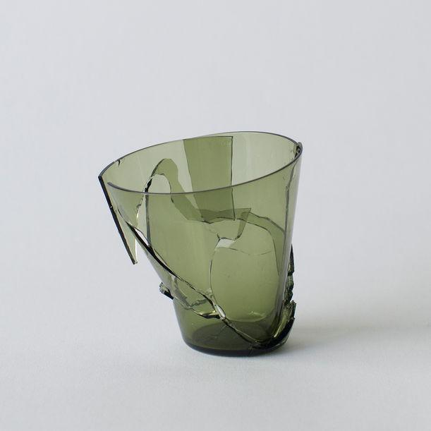 Fragile Structure#18  green by Norihiko Terayama