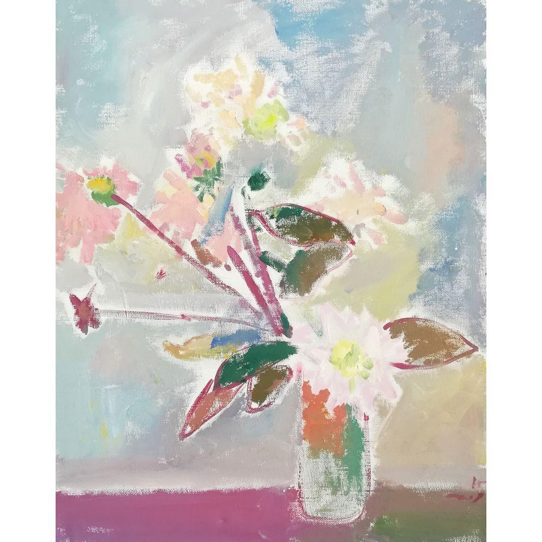 Flower Still Life by Nikol Klampert