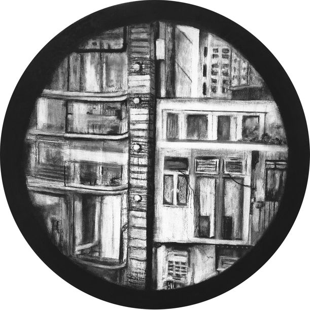 Circular Window (PMQ), Entrance of An Other Space by Tang Ling Nah