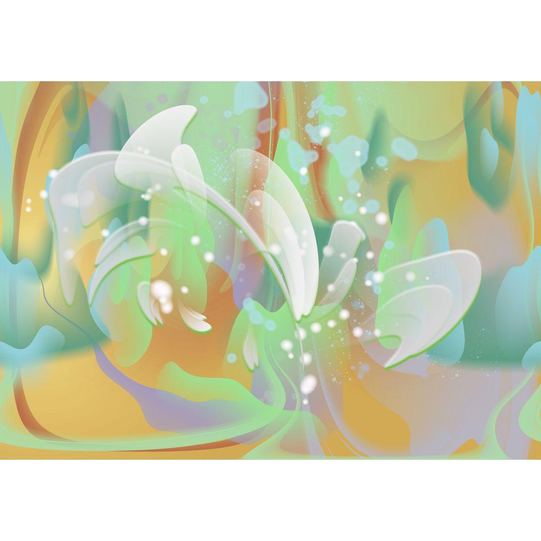 Abstract Lily by Irina Vladau