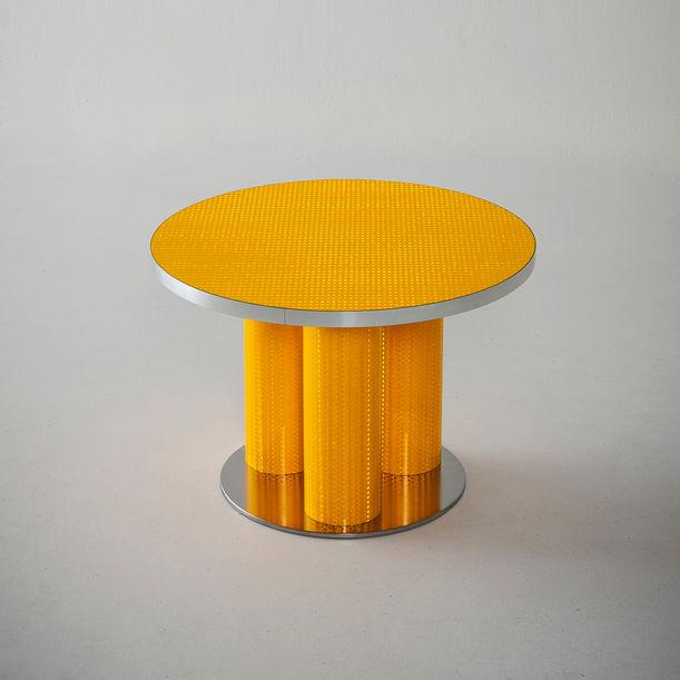 """"""" Reflective collection """" coffee table cm 60 by Sebastiano Bottos"""