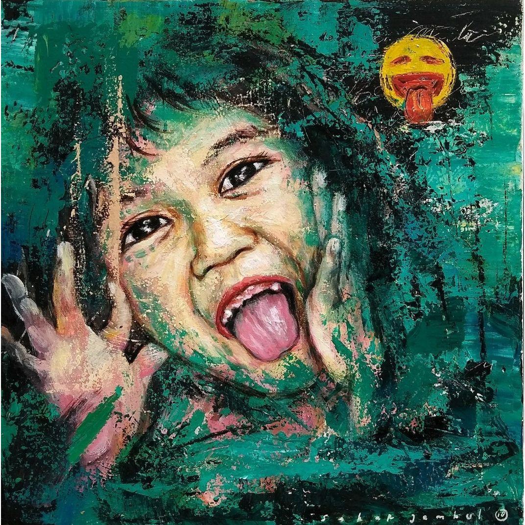 Be Happy #1 by Sabar Jambul