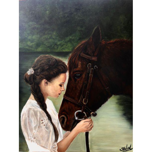 friendship by Kinga Sokol