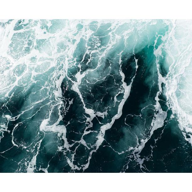 """""""Waves 5"""" - ocean photo print by Tommy Kwak"""