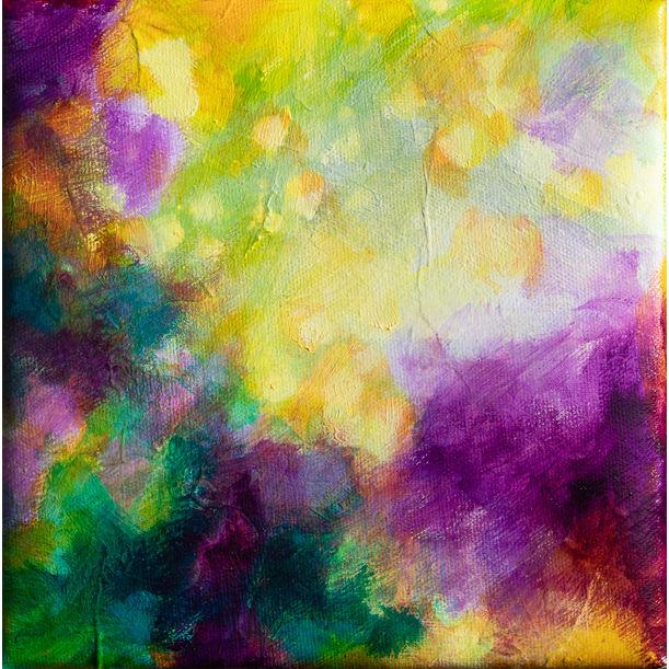 Joyful abstract by Fabienne Monestier