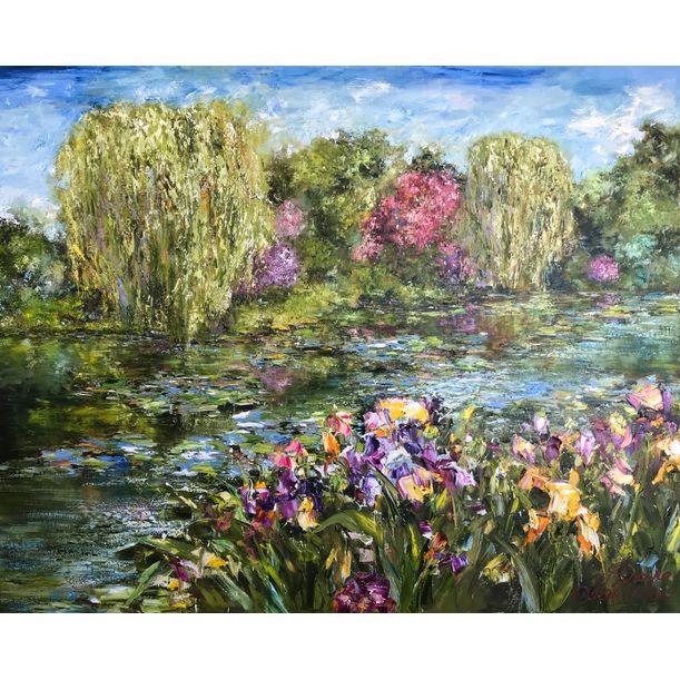 Les jardins de Giverny by Diana Malivani