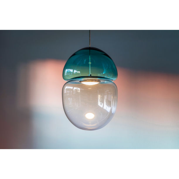 Dew & Drop Pendant Lamp in Blue by Ocrum