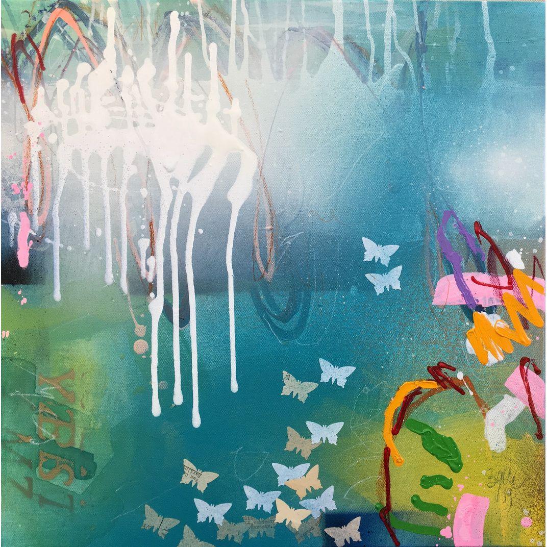 YES IV - inspired by Yoko Ono by Bea Garding Schubert
