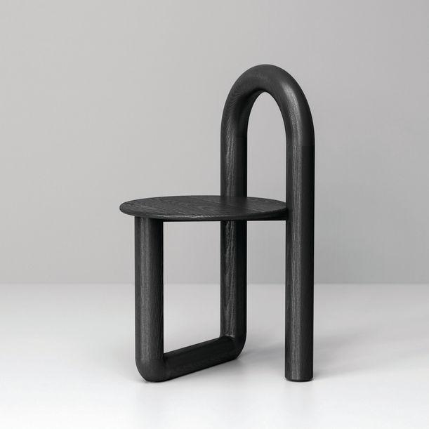 Mono Chair in Ebonized Ash by Objects & Ideas