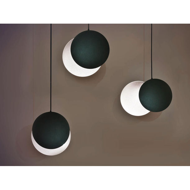 Crescent Pendent- Foggy Black by Xcellent Design