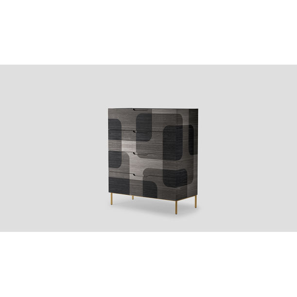 Bodega  Grey  Dresser by Joel Escalona