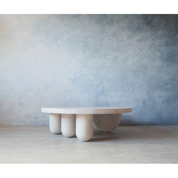 Tricolumn Coffee Table by Michael Smith-Jones