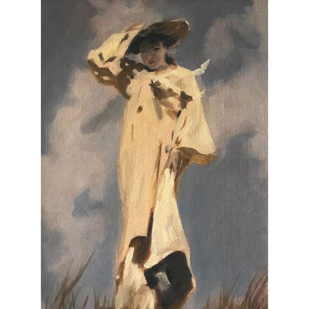 Sargent's Girl (study) by Yi Zhou_Zoe