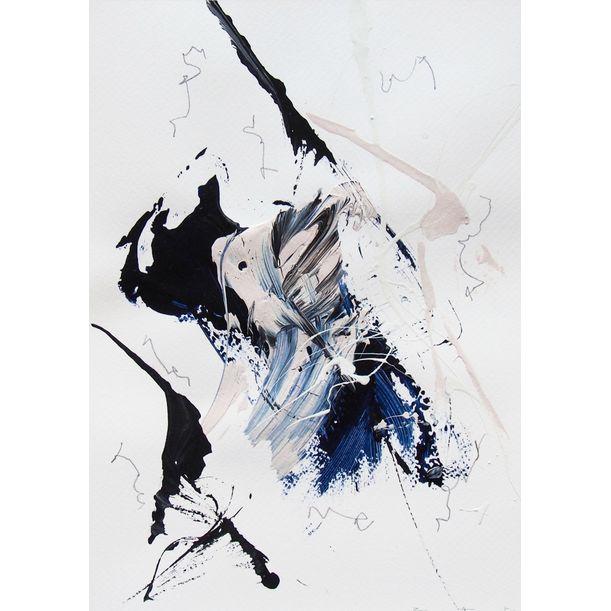 Blue Velvet 3 by Lena Zak