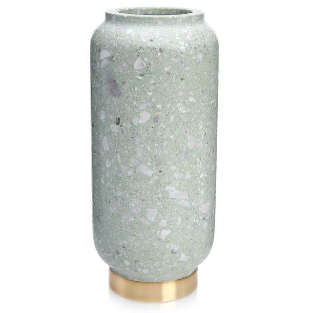Green Terrazzo Vase by KONSTANTIN