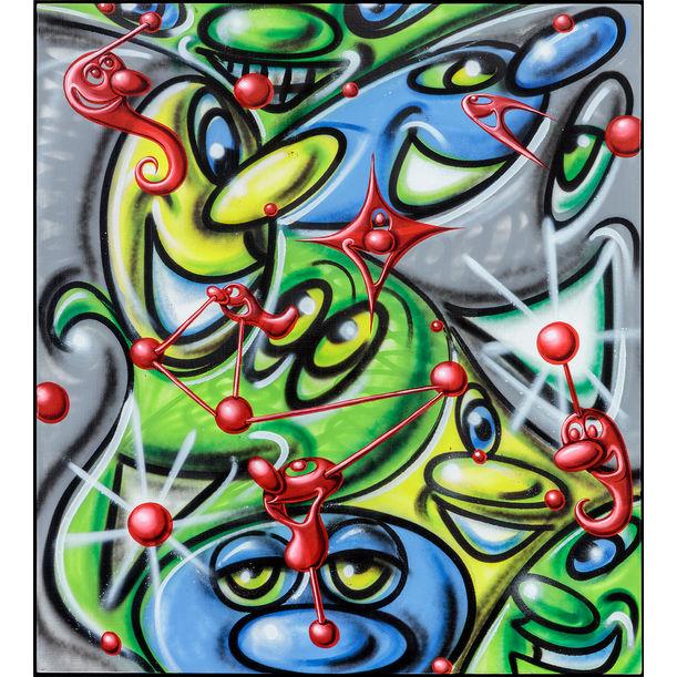 Macrolentz by Kenny Scharf