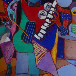 The jazz duo by Ta Thimkaeo