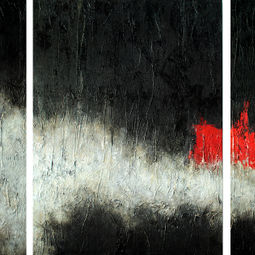 Conscious Interlude - Triptych by Peisy Ting
