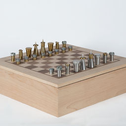 International Chess Set by The Machinist