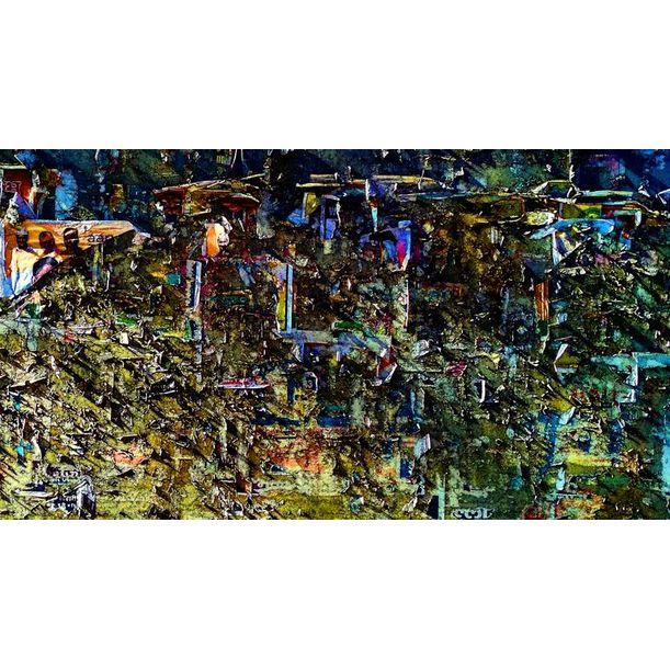 Abstract Vision II by Abhishek Kumar