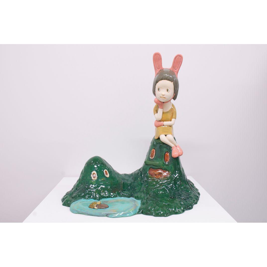 Rabbit and Turtle by Yasuhito Kawasaki