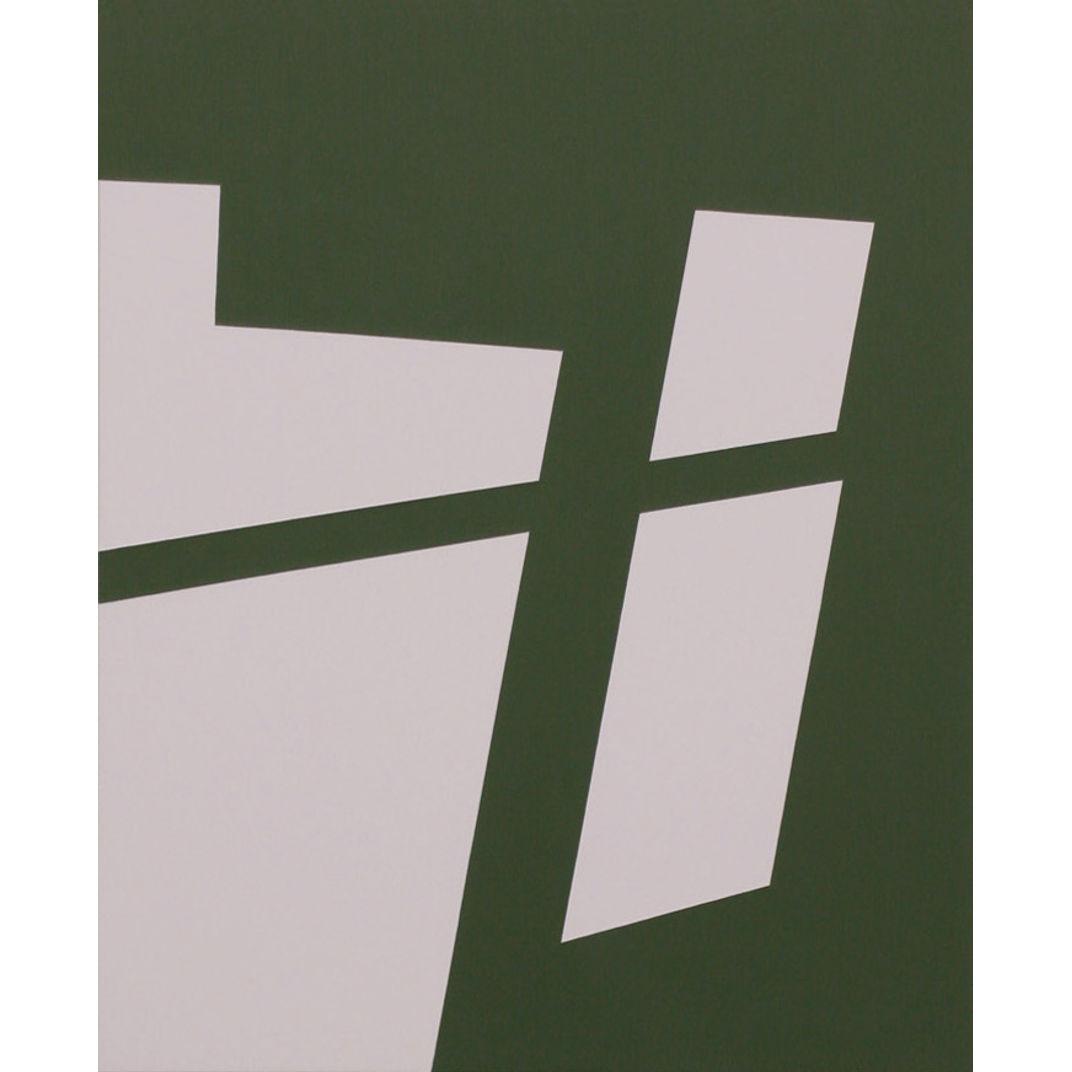 Green Error Complex 3 by Katherine Lubar