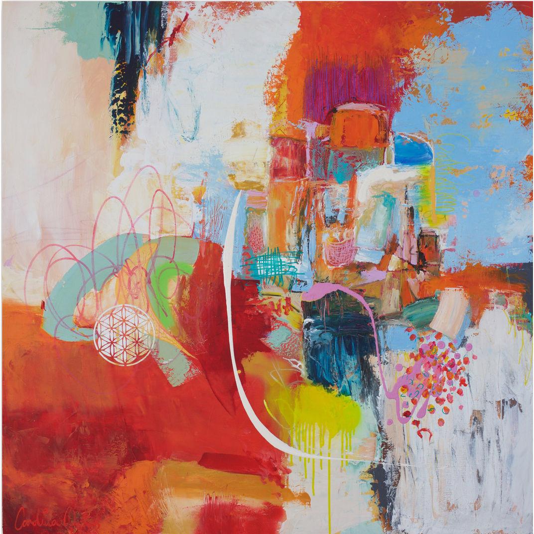 Colouring through grief by Carolina Alotus