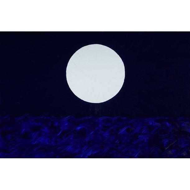 The Creation of the Moon by Ariel Chavarro Avila