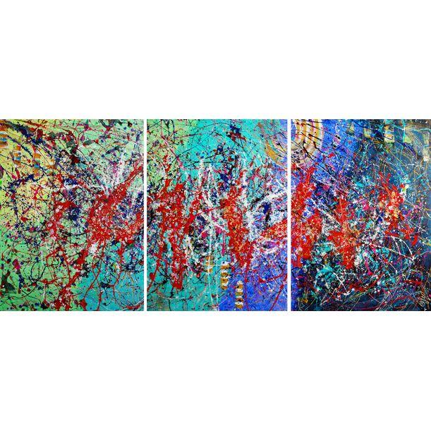 Summer Triptych! by Caroline Vis