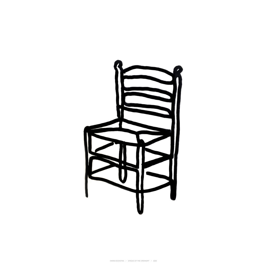 Stages of the ordinary, chair 4 by Hanna Kooistra