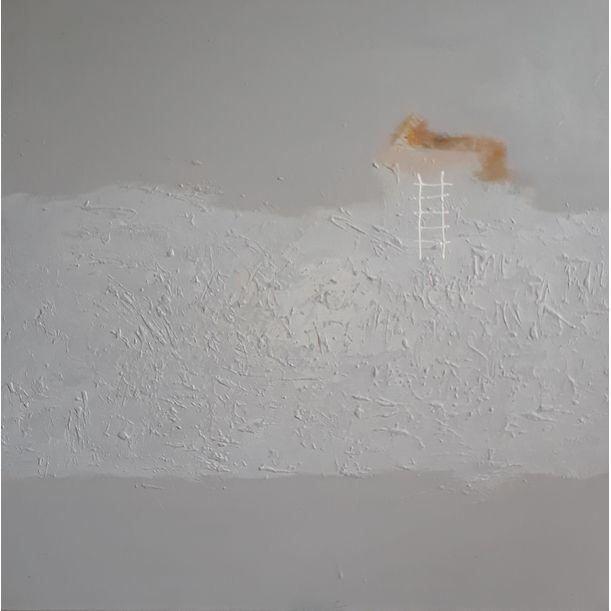 White Stairs by Sri Pramono