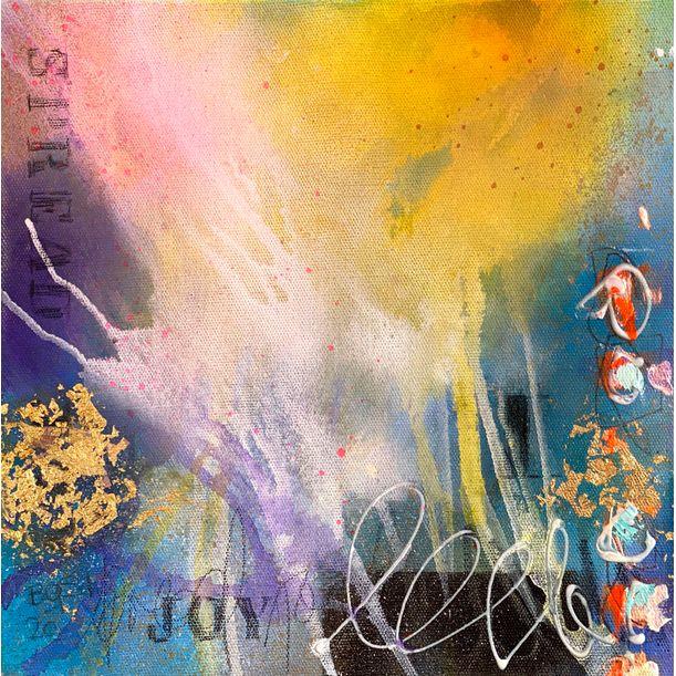 spread joy I by Bea Garding Schubert