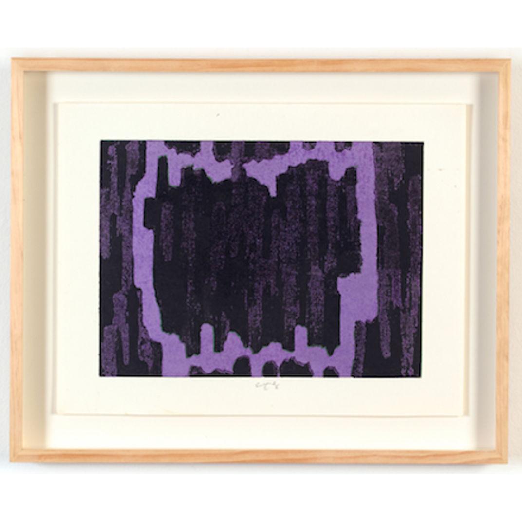 Untitled - Purple by Chiyu Uemae
