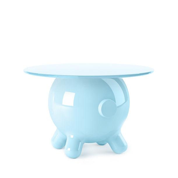 Pogo Blue Extra Large Side Table by Joel Escalona