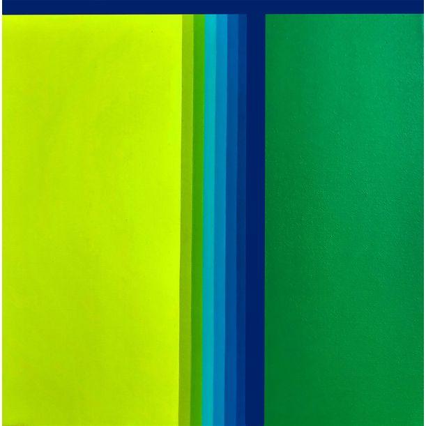 Green gradient by Cristina Ghetti