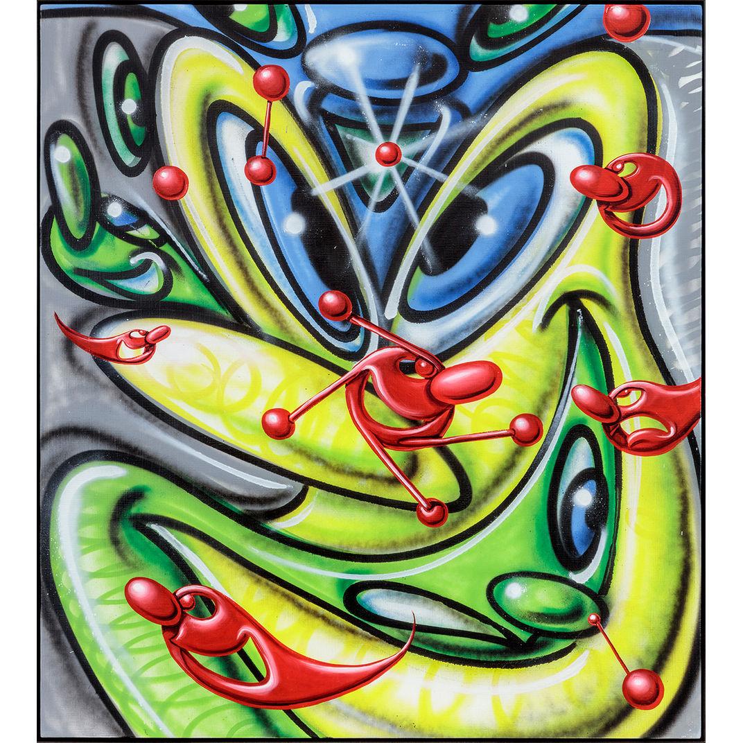 Elemicromacro by Kenny Scharf