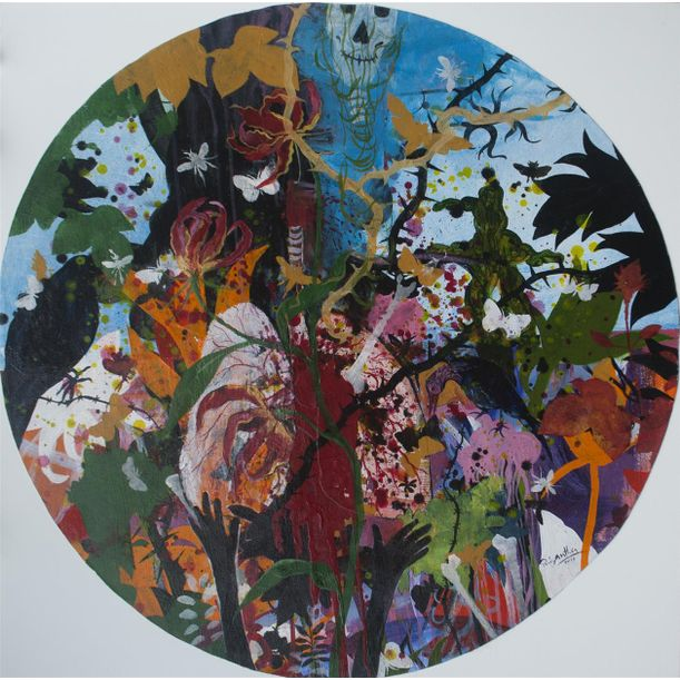 Glory Lily by Priyantha Udagedara