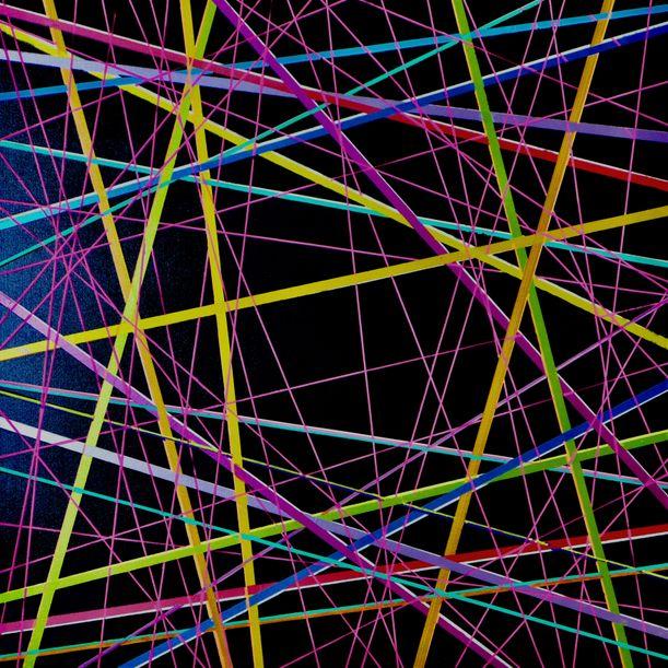 Network Black Neon by Colin McCallum