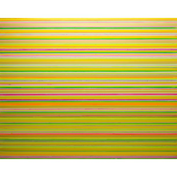 Interference Gold Yellow Purple by Colin McCallum