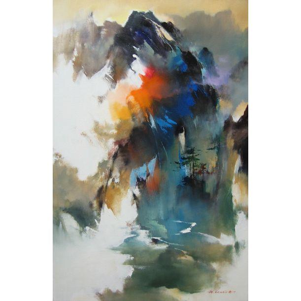 Mountain by Hong Leung