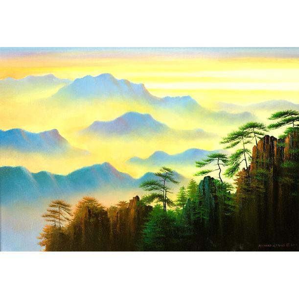 range upon range of mountains by Richard Leung